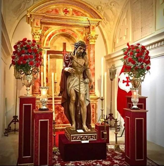 La V. H. del Stmo. Ecce-Homo de San Miguel celebra este fin de semana sus tradicionales actos y cultos en San Pedro