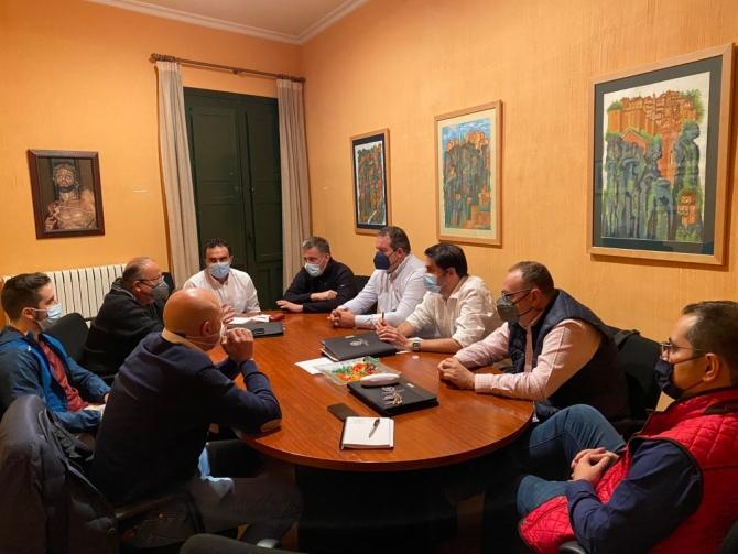 Primera reunión de la Comisión de Organización de la JdC de cara a la próxima Semana Santa 2022