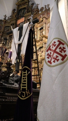 La V. H. de la Cruz Desnuda de Jerusalén apadrina la nueva Cruz Desnuda de Tarancón