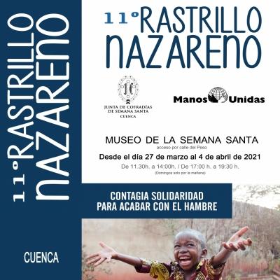 La XI edición del Rastrillo Nazareno tiene como gran novedad la I Yincana Nazarena Solidaria