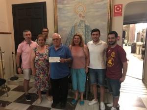 El IV Torneo Nazareno Solidario entrega más de 2.700 euros a varios proyectos asistenciales de la capital