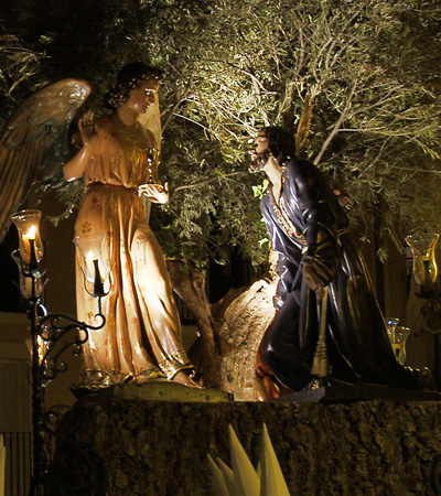 Jesús Orando en el Huerto  (de San Esteban)