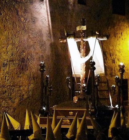 La Cruz Desnuda  de Jerusalén