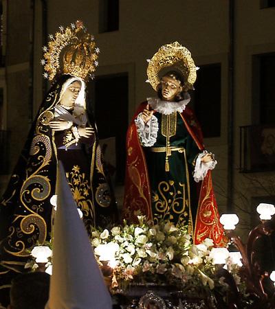 Nuestra Señora de La Amargura y San Juan Apóstol