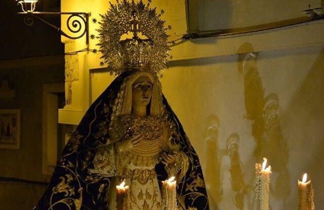 María Santísima de la Esperanza prepara su salida procesional del Martes Santo con un video promocional