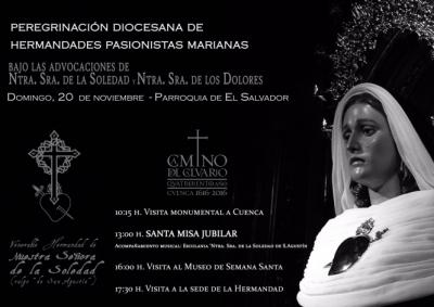 La Soledad de San Agustín celebra el domingo la Peregrinación de Hermandades Marianas Pasionistas