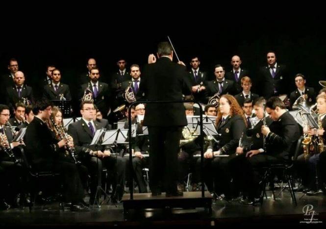 La marcha Mesopotamia, a la V. H. del Resucitado, en el programa del Concierto de Las Cigarreras en Cádiz