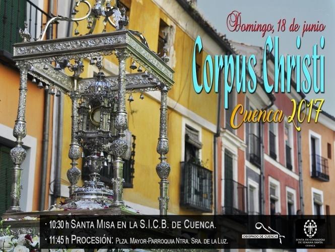 La JdC ultima detalles para celebración de la procesión del Corpus Christi, que tendrá varias novedades