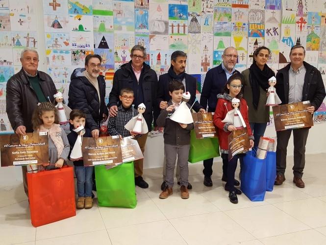 La V. H. del Resucitado entrega los premios de la XVI edición de su Concurso de Dibujo y Pintura Infantil