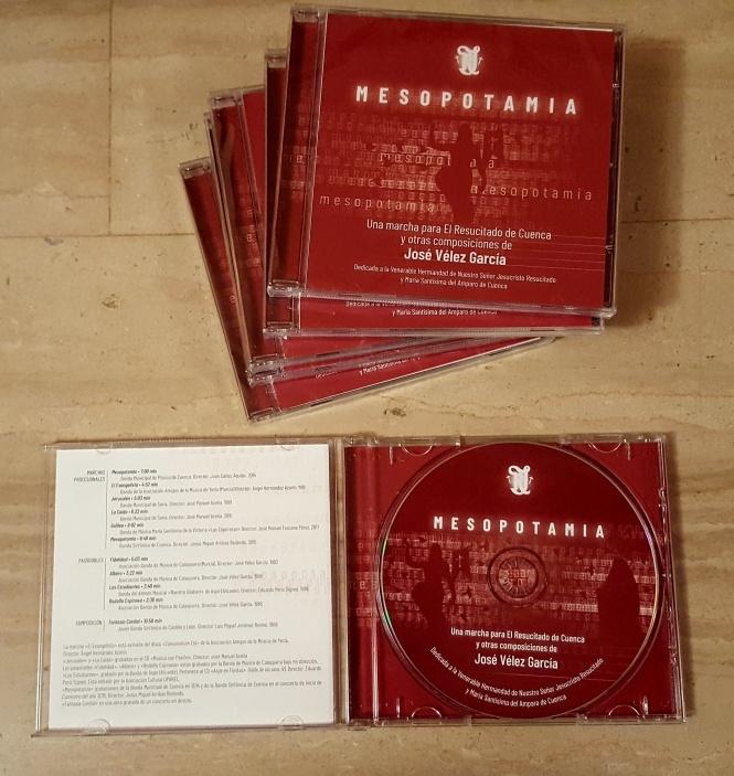 La V. H. del Resucitado edita un CD recopilatorio de diversas marchas y composiciones de José Vélez