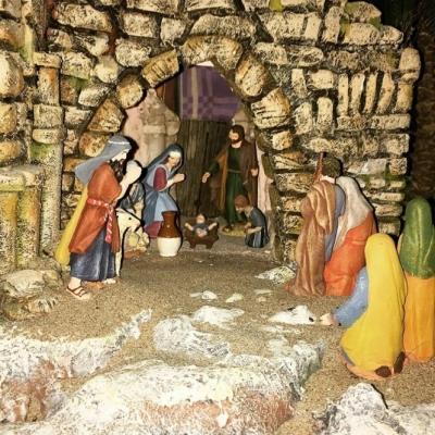 La Hermandad de Jesús Amarrado inaugura el día 16 su Belén Solidario