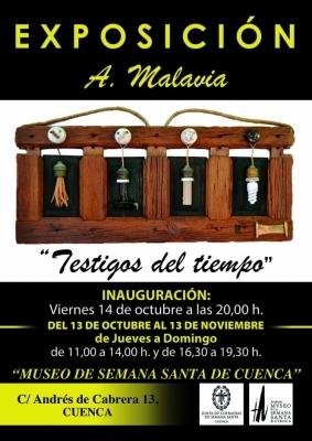 """Ángel Malavia expone """"Testigos del tiempo"""" en el Museo de Semana Santa"""