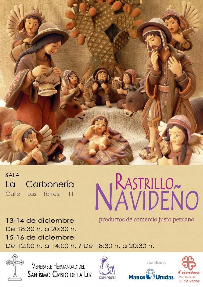El Cristo de la Luz inaugura este jueves la IV edición de su Rastrillo Navideño en colaboración con Coprodeli