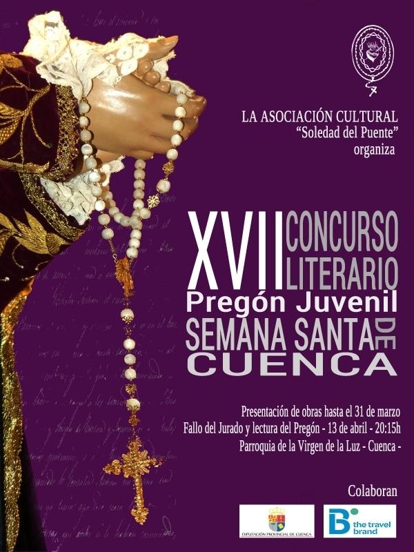 Abierto el plazo de presentación de originales de la XVII edición del Concurso Literario de la Soledad del Puente