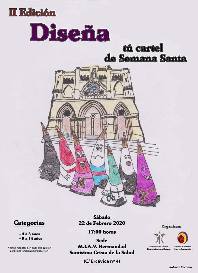 La Cantera Nazarena y la Asociación Descendimiento convocan el II Concurso de Pintura Rápida