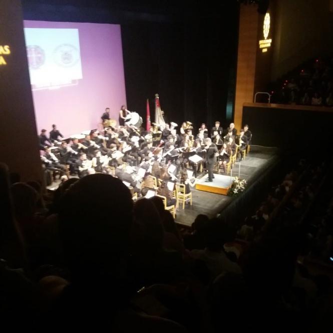 Una aplaudida U. M. Cartagonova trae la Semana Santa de Cartagena a Cuenca en un concierto para recordar