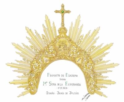 María Santísima de la Esperanza estrenará una diadema en su besamanos cuaresmal de 2017