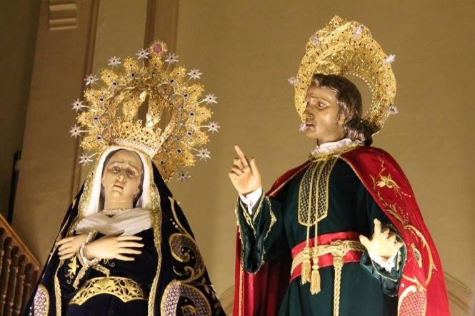 La R. I. V. H. de Ntra. Sra. de la Amargura con San Juan Apóstol estrenará su Himno en la función de este mes