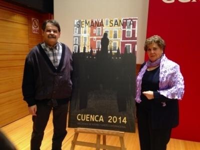 Fernando Evangelio presenta un cartel que apela a la esencia de la Semana Santa