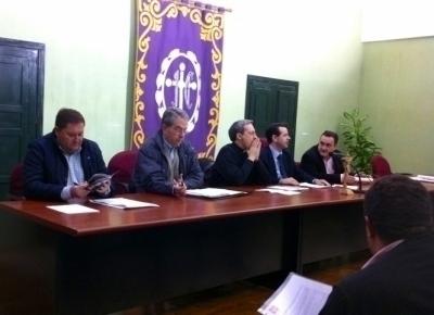 Respaldo unánime al presupuesto de la Junta de Cofradías para 2014