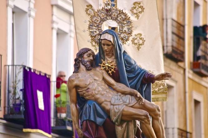 La Capilla de Música de la Catedral recibirá a la Virgen de las Angustias a su llegada a las Concepcionistas el Viernes Santo