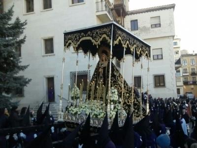 Hoy comienzan los actos y cultos de la V. H. de Ntra. Sra. de la Soledad (de San Agustín) a sus Sagradas Imágenes