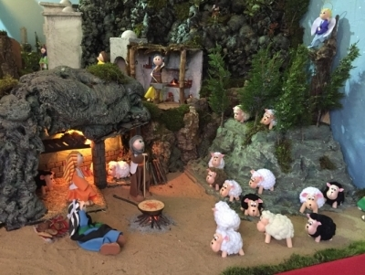 Los Reyes Magos visitarán el Belén de fofuchas de La Exaltación el 4 de enero