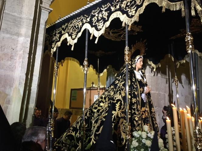 La V. H. de Ntra. Sra. de la Soledad (de San Agustín) celebra del 25 al 31 de marzo sus Cultos cuaresmales