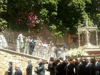 Todo listo para que la Custodia recorra el domingo 29 de mayo las calles de Cuenca