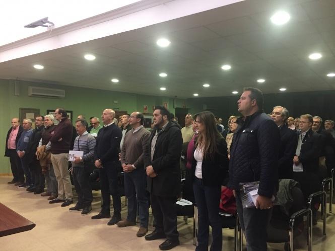 """Sánchez Albendea llama a las hermandades a cuidar """"nuestras señas de identidad"""" y trabajar a una por la Semana Santa"""
