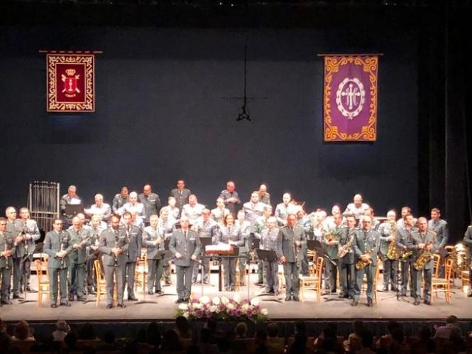 La U. M. de la Dir. Gral. de la Guardia Civil interpretó el Concierto de inicio de Cuaresma 2020