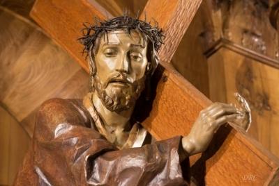 La imagen de Ntro. Padre Jesús Nazareno del Puente se traslada a Murcia este mes para su restauración