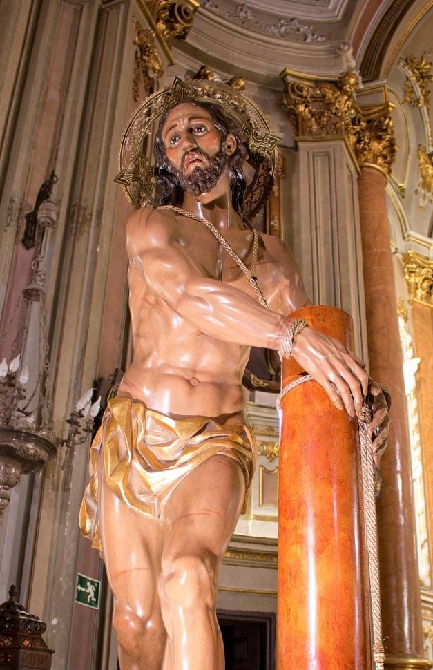 Este domingo, Función y Besapié a la imagen de Nuestro Padre Jesús Amarrado a la Columna