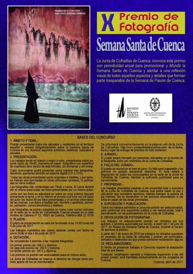 """El Premio de Fotografía """"Semana Santa de Cuenca"""", convocado por la JdC, cumple 10 años"""