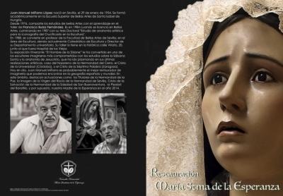 La V. H. de María Stma. de la Esperanza celebra el domingo una emotiva jornada con su Función y varios actos especiales