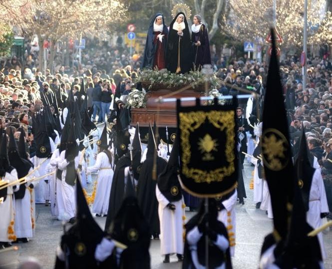 La V. H. de Ntra. Sra. de los Dolores y las Santas Marías celebra este sábado su Función religiosa