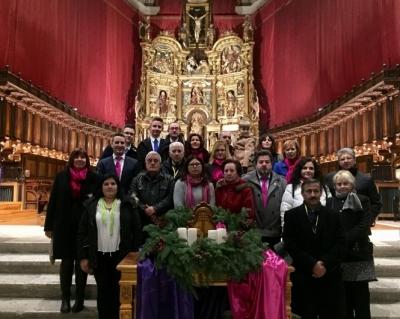 Una delegación de hermanos de la Santa Cena participa en el XIV Encuentro Nacional en Valladolid