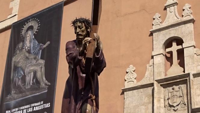 """Este lunes se inaugura en Diputación la muestra """"La Sagrada Imagen de Jesús Nazareno del Puente. 75 años de Camino"""""""