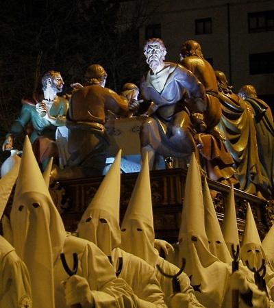 La talla del Judas de la Santa Cena participará virtualmente en una exposición en Los Ángeles