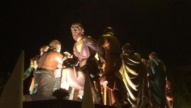 Este sábado, 4 de noviembre, se presentan los trabajos de digitalización de la imagen del Judas de la Santa Cena