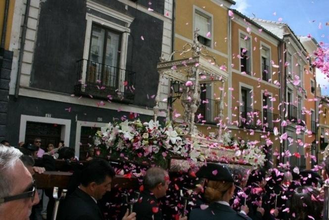 La procesión del Corpus de 2019 cambia de recorrido y de iglesia de llegada y se celebrará de nuevo por la tarde