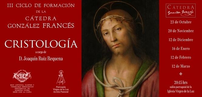 El 23 de octubre comienza el III Ciclo de Formación de la Cátedra González Francés