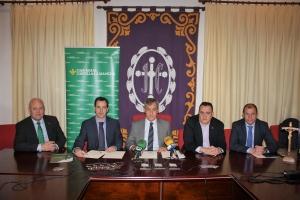 Caja Rural Castilla-La Mancha renueva su convenio con la Junta de Cofradías de Cuenca