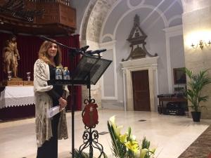 Pilar Ruipérez desnuda el alma conquense en un Pregón profundo, ejemplo de fe y sentimiento nazareno