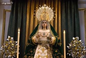 La V. H. de María Stma. De la Esperanza celebra sus cultos de diciembre este fin de semana