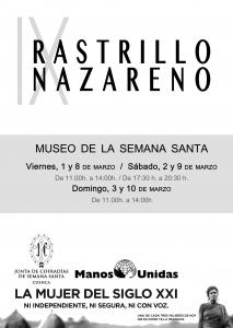 La JdC y Manos Unidas organizan la IX edición del Rastrillo Nazareno